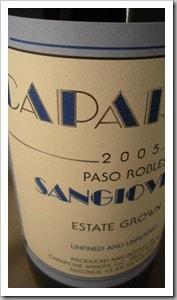 Caparone Sangiovese