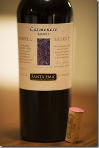 Santa Ema Carmenere Barrel Select