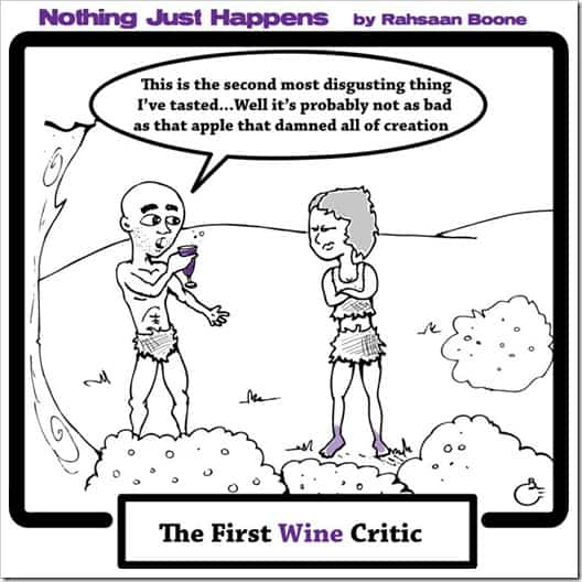 The First Wine Critic