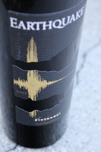 Earthquake Zinfandel by Michael David Winery