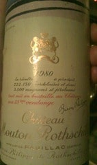 Mouton 1980. My birth year!