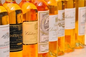 Sauternes is perfect example of a great wine for aging.
