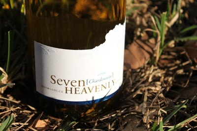 Seven Heavenly Chardonnay Bottle Shot