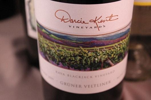 "Darcie Kent ""Rava Blackjack Vineyard"" Gruner Veltliner 2008"
