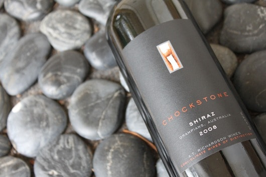 Chockstone Shiraz 2008 from Grampians, Australia.