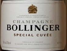 Bollinger Special Cuvee Champagne