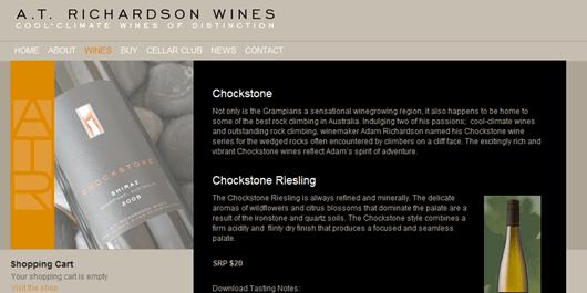 Chockstone Shiraz Screenshot