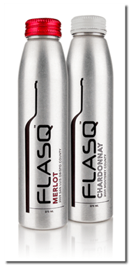 FLASQ- The First U.S. Wine to Adopt Aluminum Bottles
