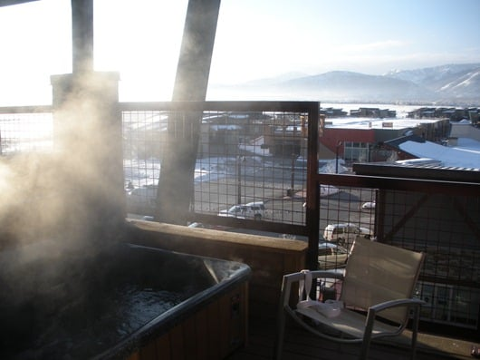 New Park Resort Hot Tub, Utah