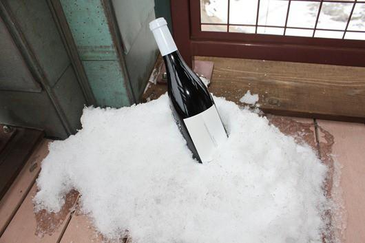 Straight Line Mendocino County Pinot Noir - On Ice!