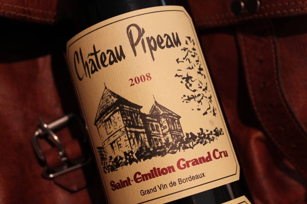 chateau pipeau saint emilion grand cru 2008 blog your wine. Black Bedroom Furniture Sets. Home Design Ideas