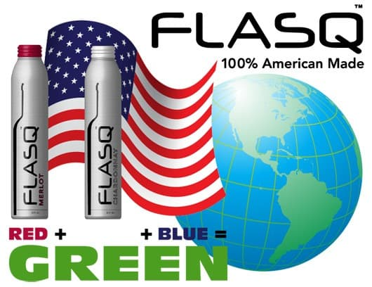 FLASQ - As green as it gets!