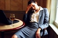 A wine headache? Maybe you sounldn't be drinking on the job