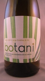 Botani Moscatel from Jorge Ordonez