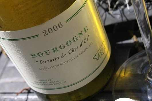 "Verget Bourgogne ""Terriors de Cote d'Or"" Chardonnay"