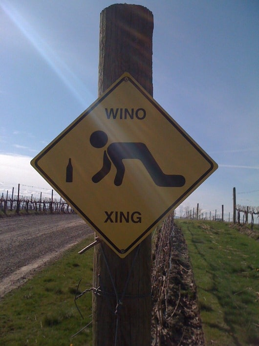 Wino Crossing!