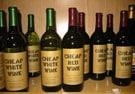 Cheap wine wins...maybe.