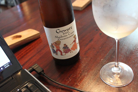 Gewurz by Alexander Valley Vineyards - Gewurztraminer from Mendocino County