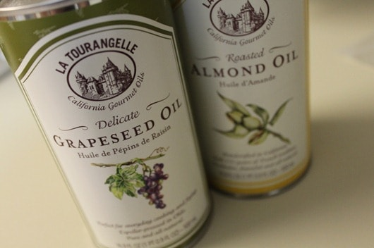 La Tourangelle Grapeseed Oil and Roasted Almond Oil
