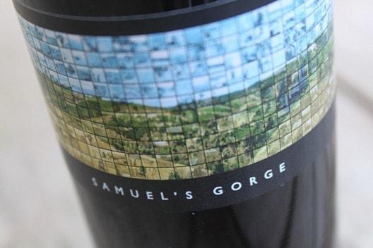 Samuel's Gorge Tempranillo from McLaren Vale, Australia.