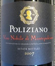 2007 Poliziano Vino Nobile di Montepulciano