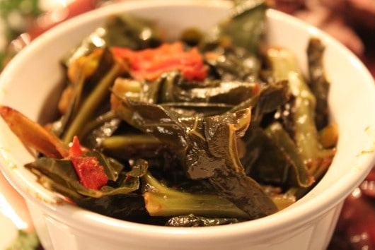 Collard Greens - It's like spinach, but not.