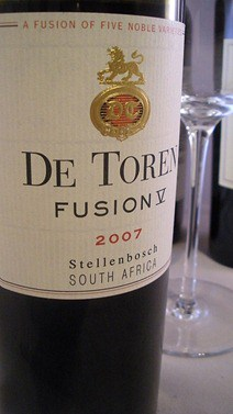 De Toren Fusion 5 from Stellenbosch, South Africa.
