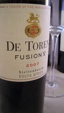 De Toren Fusion 5 from Stellenbosch, South Africa.