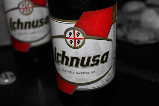 Ichnusa Beer from Sardinian
