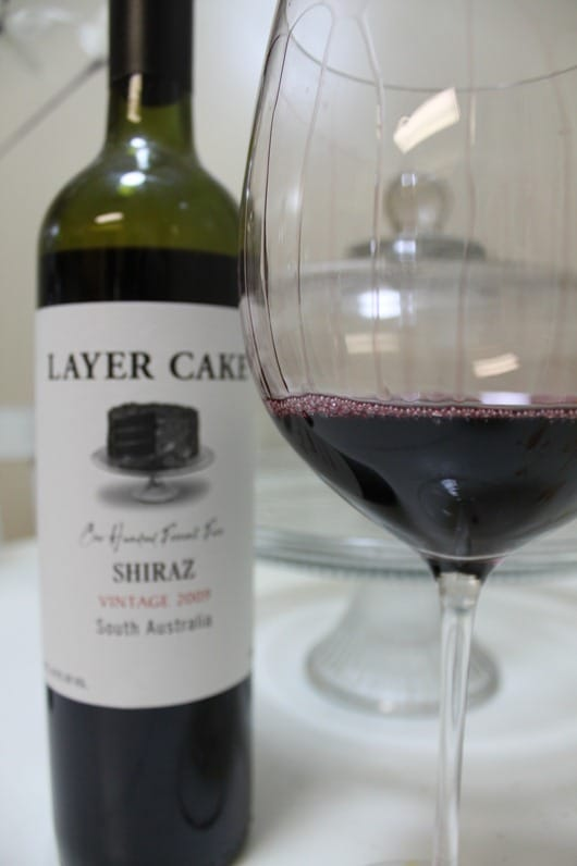 Layer Cake Shiraz, South Australia, 2009