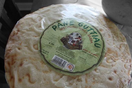 Pane Guttiau Bread from Sardinian