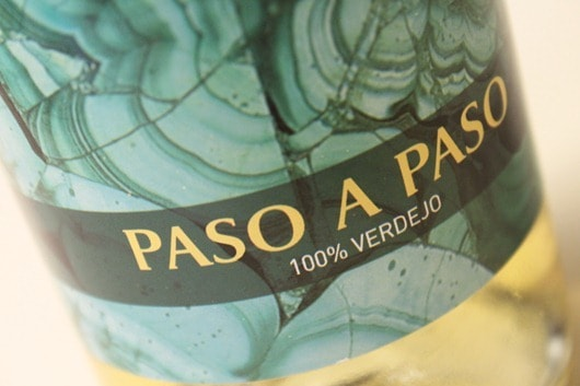 Paso a Paso - Verdejo from La Mancha, Spain.