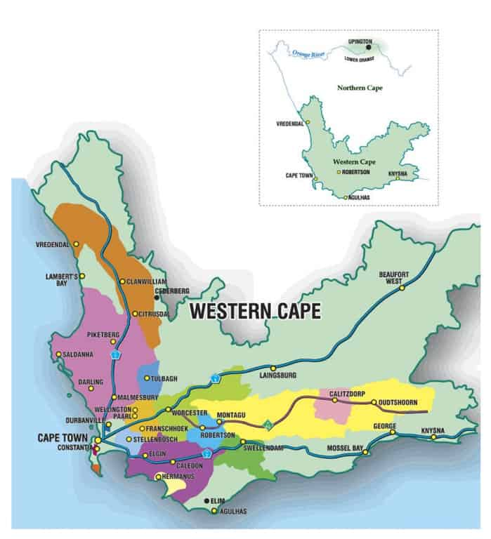 South African Wine Regions of Note Blog Your Wine