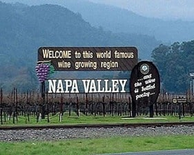 How do you make a small fortune in Napa? Start with a big one!