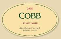 2008 Cobb Rice-Spivak Vineyard Pinot Noir