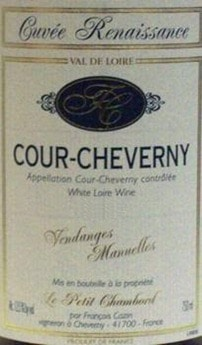 Cazin Cour_Cheverny_Cuvee_Renaissance