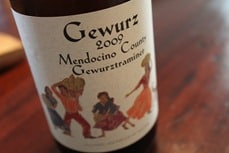 Gewurz by Alexander Valley Vineyards