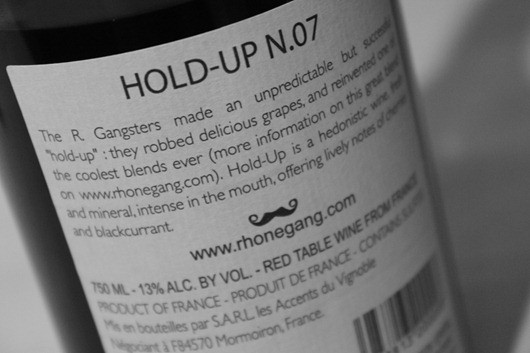 Hold Up 2007 by Rhone Gang.