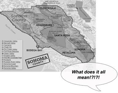 Wine Drinkers Know Bugger-All About Sonoma.