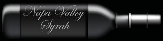 Napa Valley Syrah