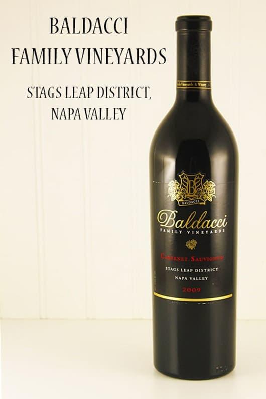 Baldacci Cabernet, Stags Leap District, Napa Valley.